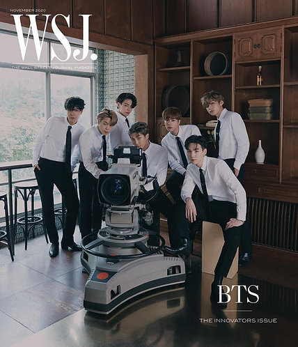 [ Group Order INA🇮🇩 ] USA Store🇺🇸 - The Wall Street Journal WSJ USA x BTS