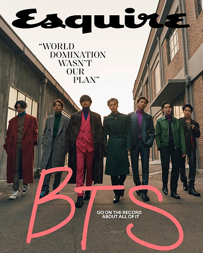 [ Group Order INA🇮🇩 ] USA Store🇺🇸 - Esquire Magazine x BTS