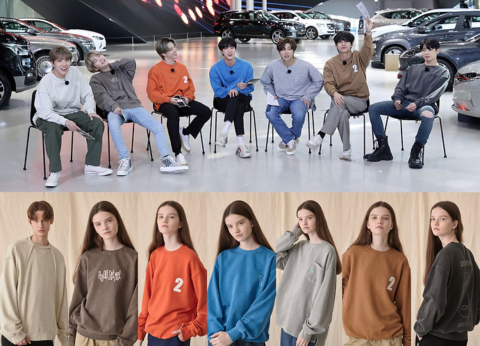 LE2 worn by BTS
