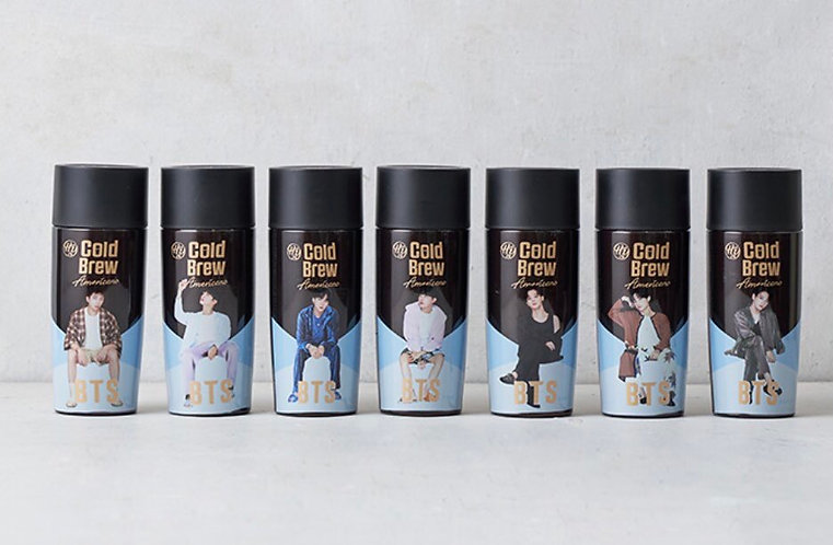 BTS Hy Coffee Cold Brew / Hot Brew (liquid included / ada isi)