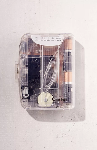 [ Group Order INA🇮🇩 ] USA Store🇺🇸 - Clear Tech Cassette Player