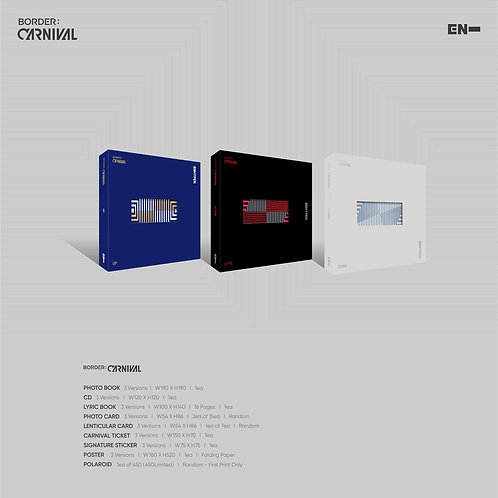 [ Pre-Order & Cicilan ] 2nd Mini Album ENHYPEN - BORDER : CARNIVAL
