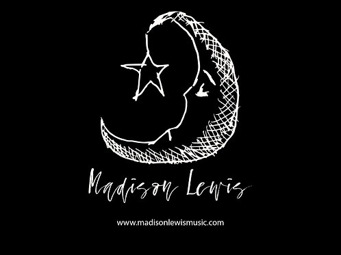Moon Logo Sticker