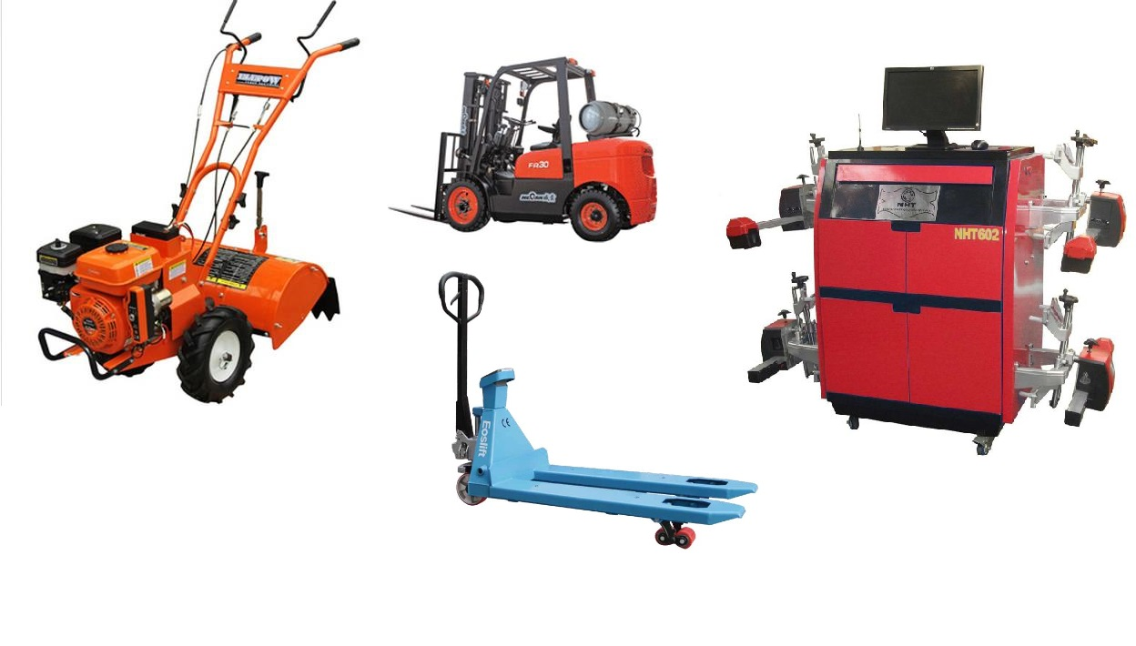 Machinery and equipments