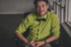 TWAdair Art - Tylor Adair in his Ionic Green Shirt and Bow Tie
