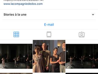Suivez la compagnie sur Instagram !