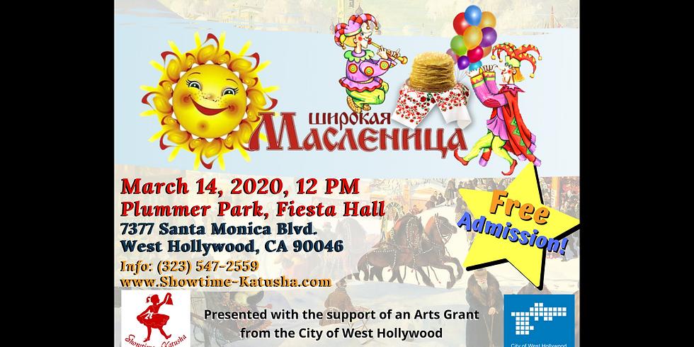 Annual Cultural Festival Maslenitsa