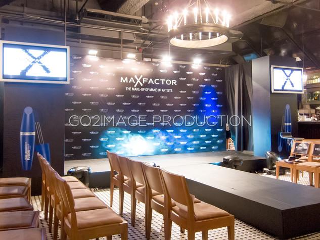 Max Factor發佈會