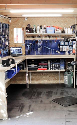 Notre atelier réparation vélo