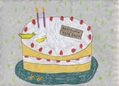 shortcake drawing