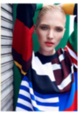 Model, Amand Leemis in South Africa.