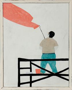 painting man