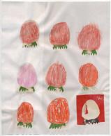 strawberry drawing