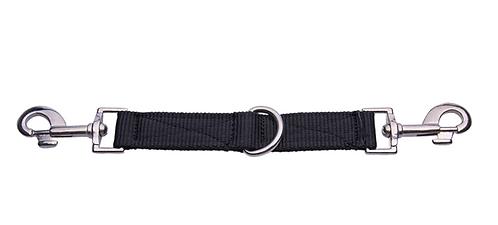 Nylon Koppler, schwarz