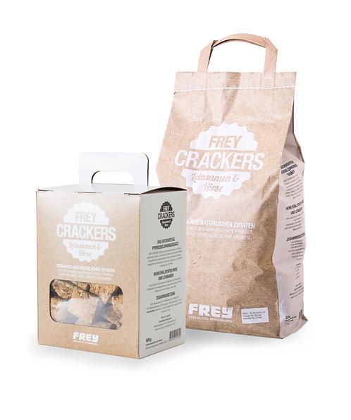 Frey Crackers Hirse/Leinsamen