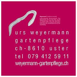 Urs Weyermann Gartenpflege in Uster.