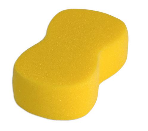 Schwamm Knochen-Form, 200x120x60 mm, gelb
