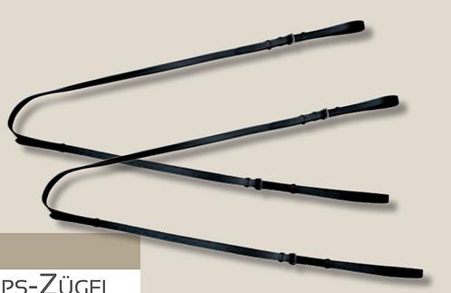 Philippszügel verstellbar, schwarz