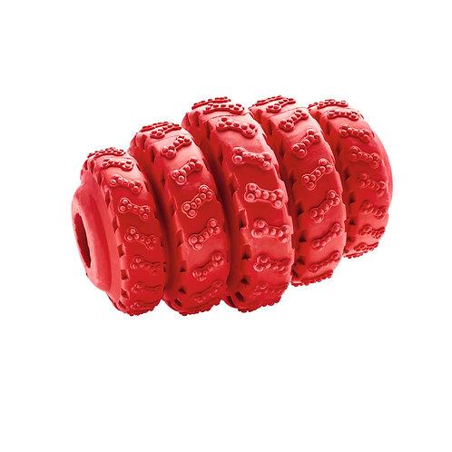 Hundespielzeug Talvik Reifen M, rot