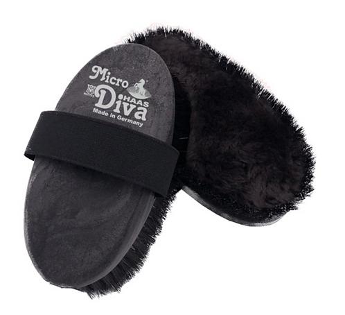 Micro-Diva, Kopfbürste mit Lammfellkissen