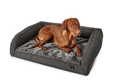 Orthopädisches Hundesofa LIVINGSTON 80x60 cm anthrazit