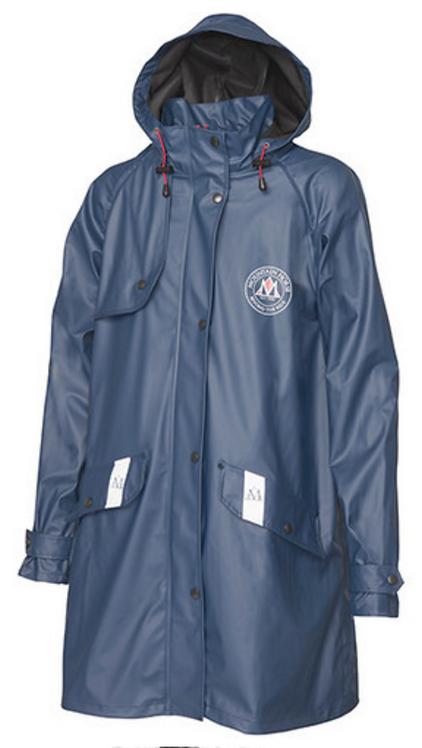 Misty Rain Coat, city navy