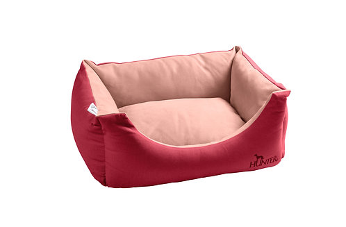 Hundesofa Keitum 60x40 cm, rot/rosa