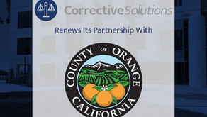 Orange County Extends Supervised Electronic Confinement (SEC) Contract with CorrectiveSolutions