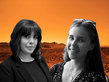 Chiara and Paulina join Mars Lab for their PhD!