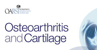 Publication to Osteoarthritis and Cartilage Journal