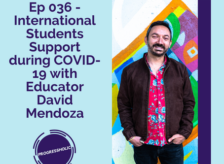 (SOCIETY) Ep 036 - International Students Support During COVID-19 in Canada with Educator David Mend