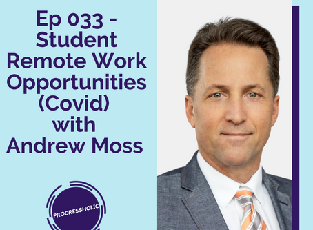 (SOCIETY) Ep 033 - Remote Student Work Opportunities with Andrew Moss