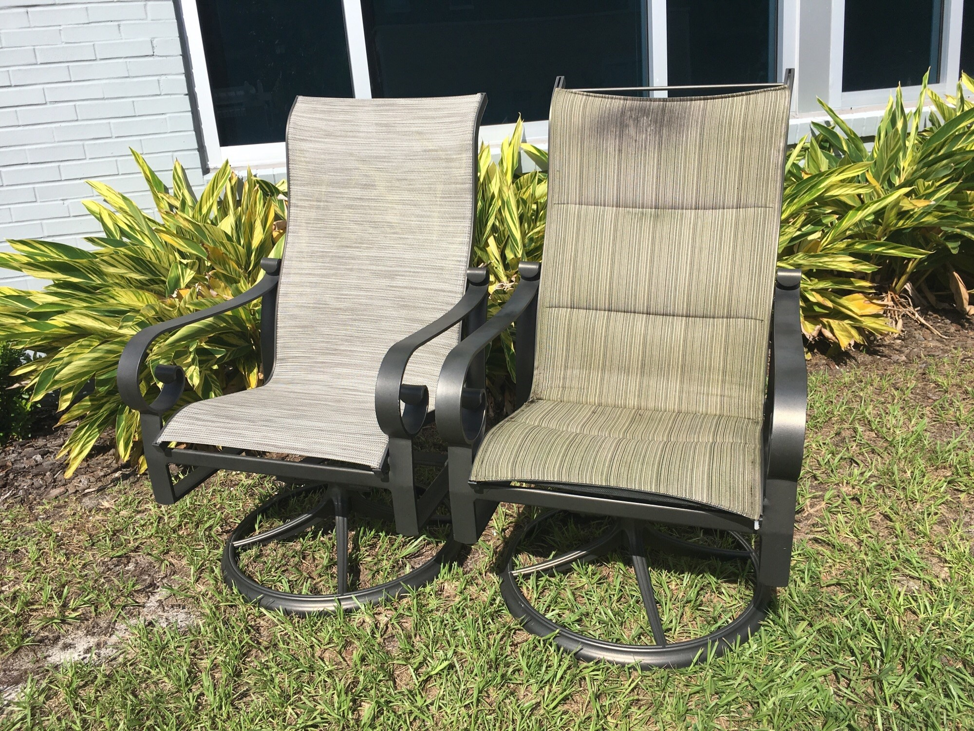 Chair Sling Before And After