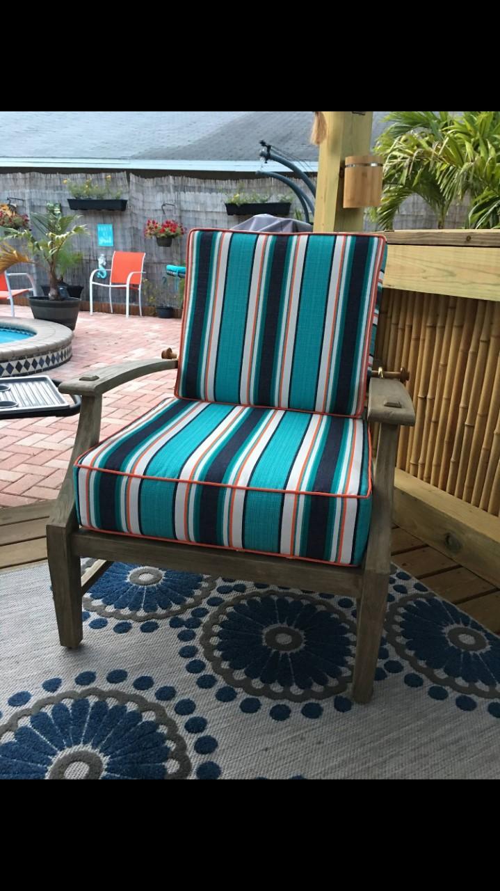 Custom Cushions / Custom Welt