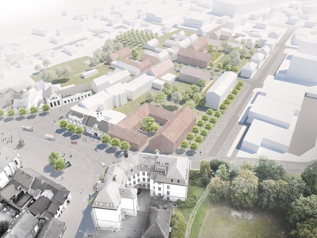 Dostavba historického centra města Starý Plzenec