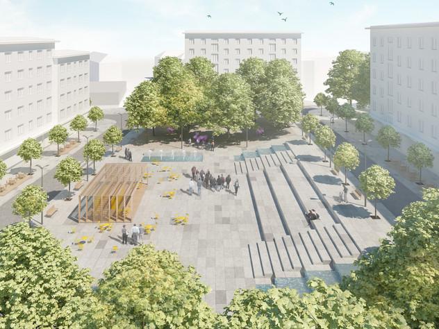 Nové náměstí v České Třebové