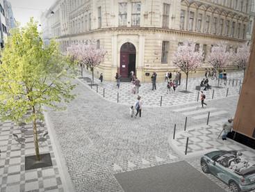 Revitalizace ulice Františka Křížka v Praze