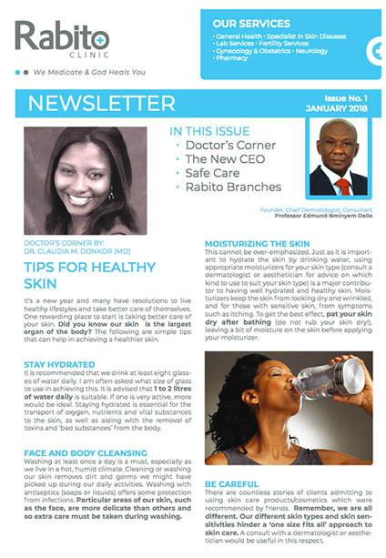 Rabito Clinic Newsletter - January 2018