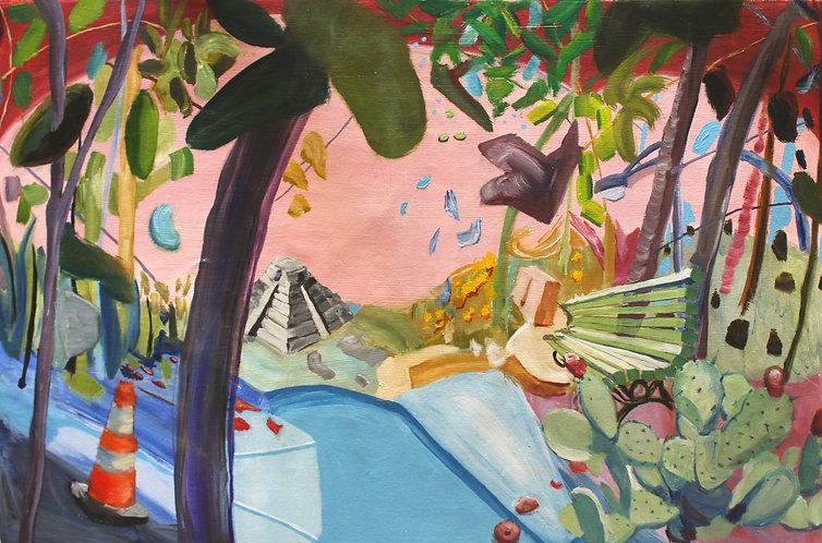 Andrea Castillo painting