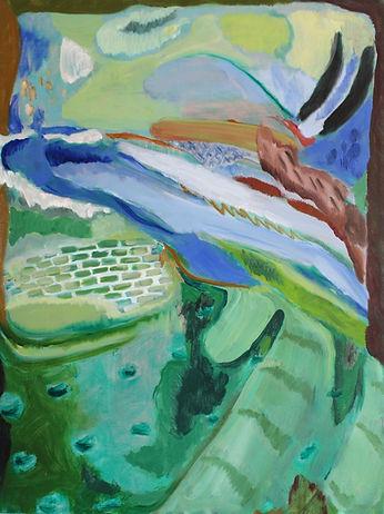 Andrea Casillo painting