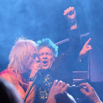 Jani and Michael Monroe