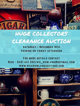 Clearance Auctions Nick Rowland Auctions