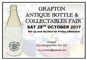 Nick Rowland Auctions Grafton Bottle and Collectables Fair