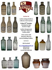 Nick Rowland Auctions Grafton Bottle and Collectables Fair Auction Catelogue