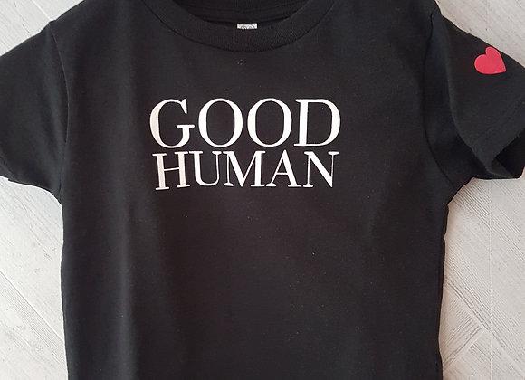 Toddler Good Human T-Shirt