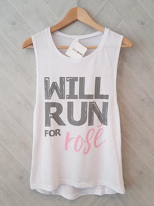 Will Run for Rosé Tank