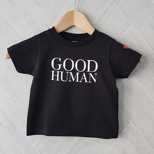 Good Human Toddler Tee