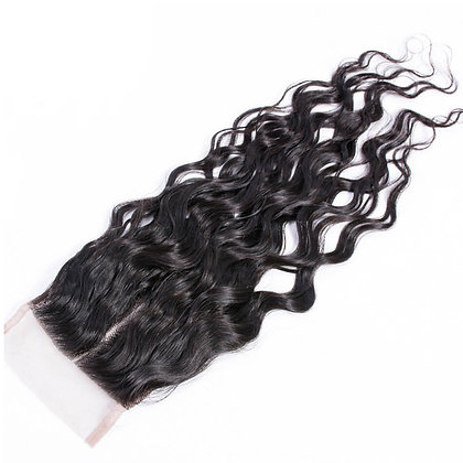 Transparent Lace Closure - Water Wave