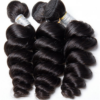 Virgin Loose Wave Hair (Single Bundles)