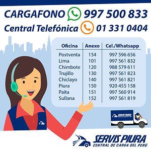 Telefonos Servis Piura